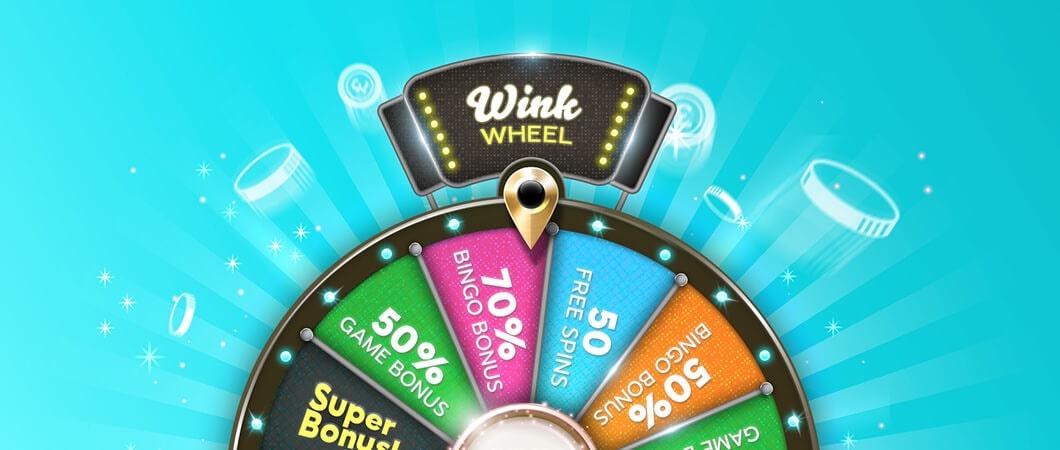 bingo bonuses wheel
