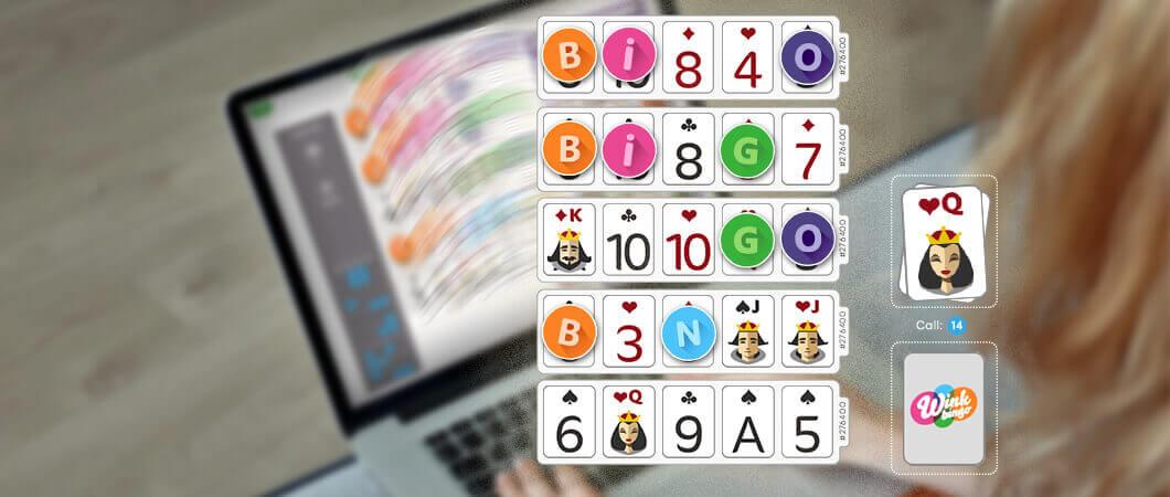flash fives bingo game